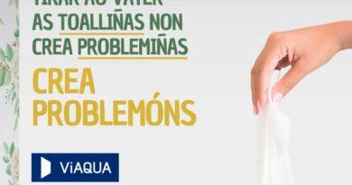 Tirar toallitas, mascarillas o bastoncitos por el inodoro no crea 'problemitas' sino 'problemones'.